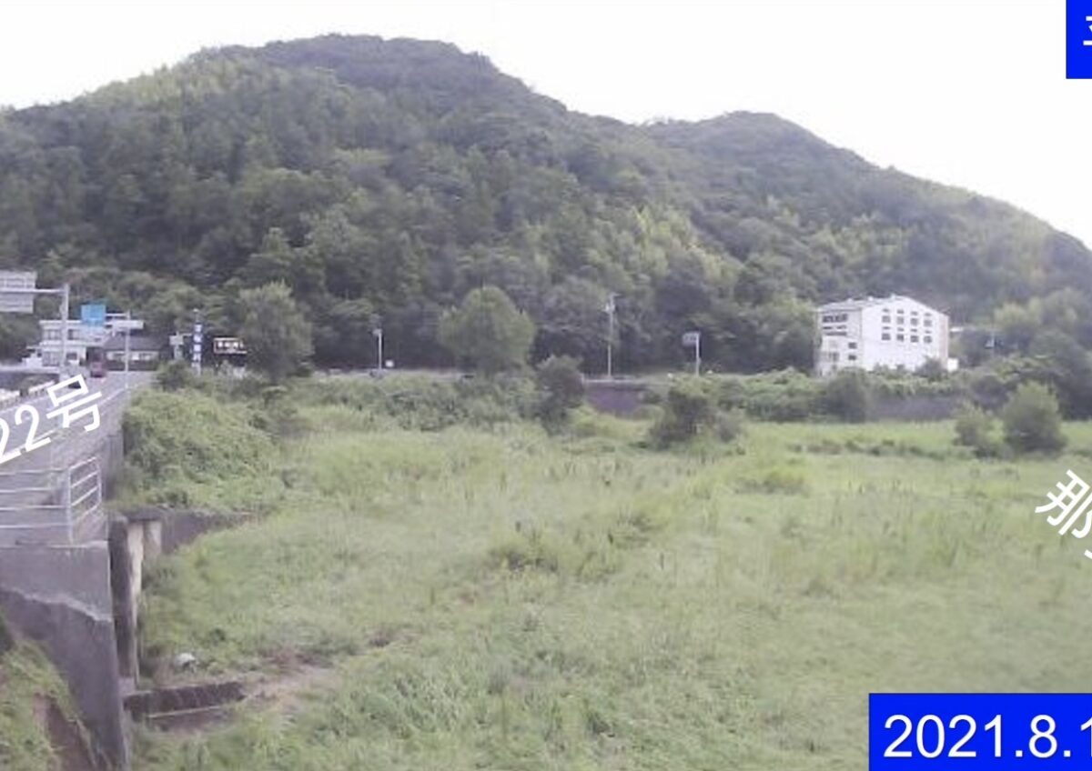 那賀川・持井ライブカメラと雨雲レーダー/徳島県阿南市上大野町