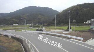 那賀川・西加茂ライブカメラと雨雲レーダー/徳島県阿南市加茂町
