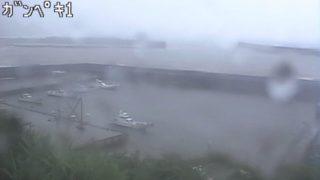 中之島(中之島港) ライブカメラと雨雲レーダー/鹿児島県十島村