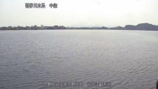 斐伊川水系 中海・米子湾ライブカメラと雨雲レーダー/島根県安来市島田町