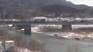 馬淵川・如来堂川ライブカメラ(3ヶ所)と雨雲レーダー/青森県南部町