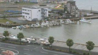 名瀬港 ライブカメラと雨雲レーダー/鹿児島県奄美市