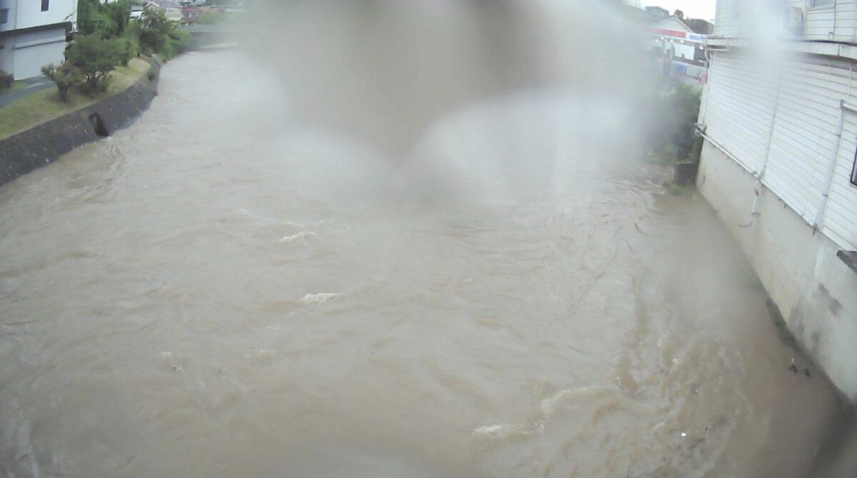 二河川・兎の口橋ライブカメラと雨雲レーダー/広島県呉市焼山西