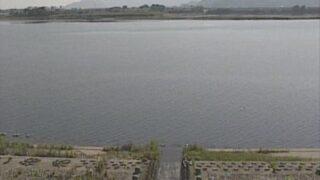 仁淀川・仁西樋門外水ライブカメラと雨雲レーダー/高知県高知市春野町西畑