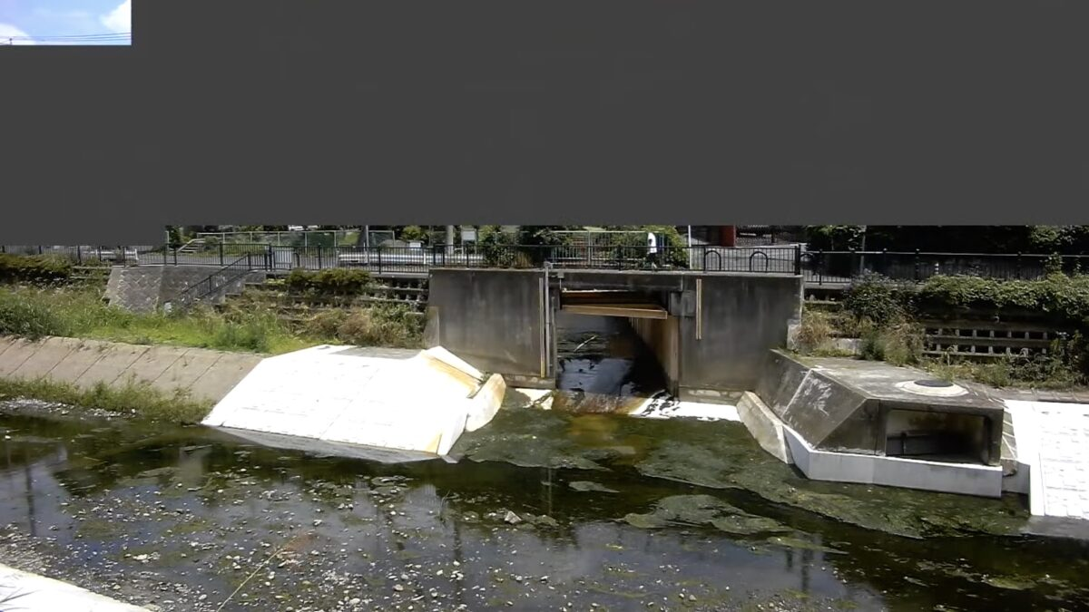 野川・野川映像監視局ライブカメラと雨雲レーダー/東京都狛江市東野川