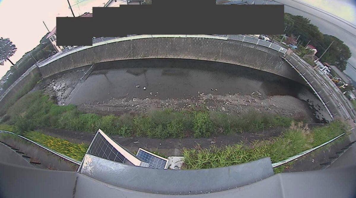 荻野川・十二天橋ライブカメラと雨雲レーダー/神奈川県厚木市及川