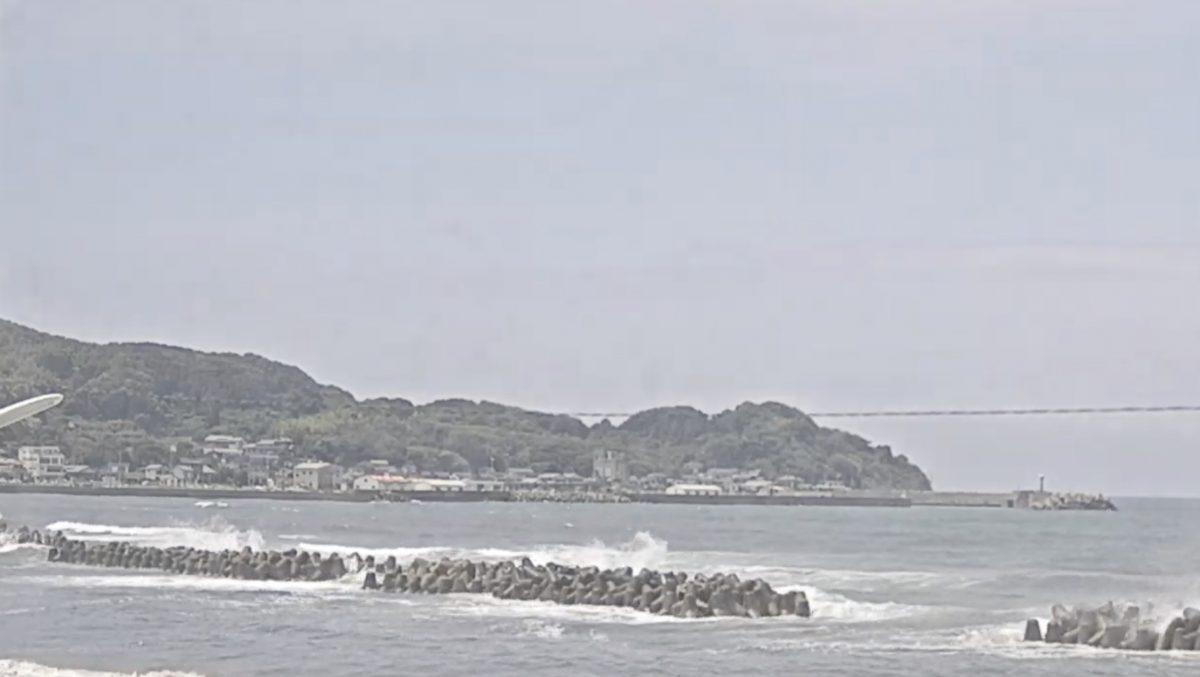 波津海岸ライブカメラと雨雲レーダー/福岡県岡垣町