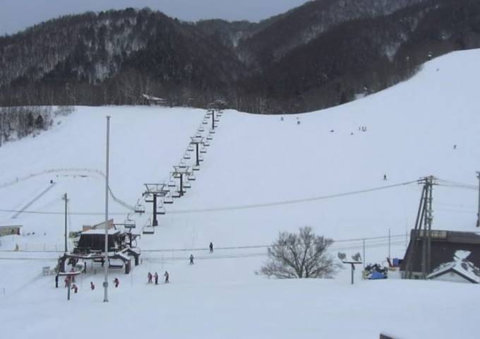 鹿島槍スキー場ライブカメラと雨雲レーダー/長野県大町市