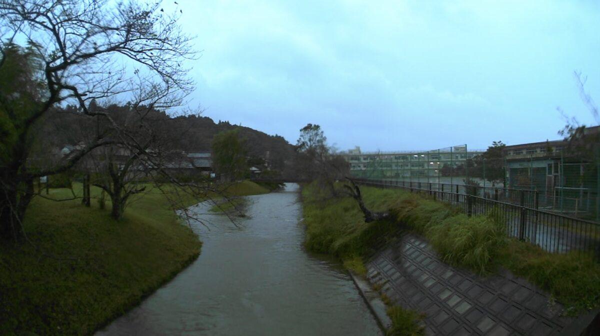 小野川・牧野ライブカメラと雨雲レーダー/千葉県香取市牧野