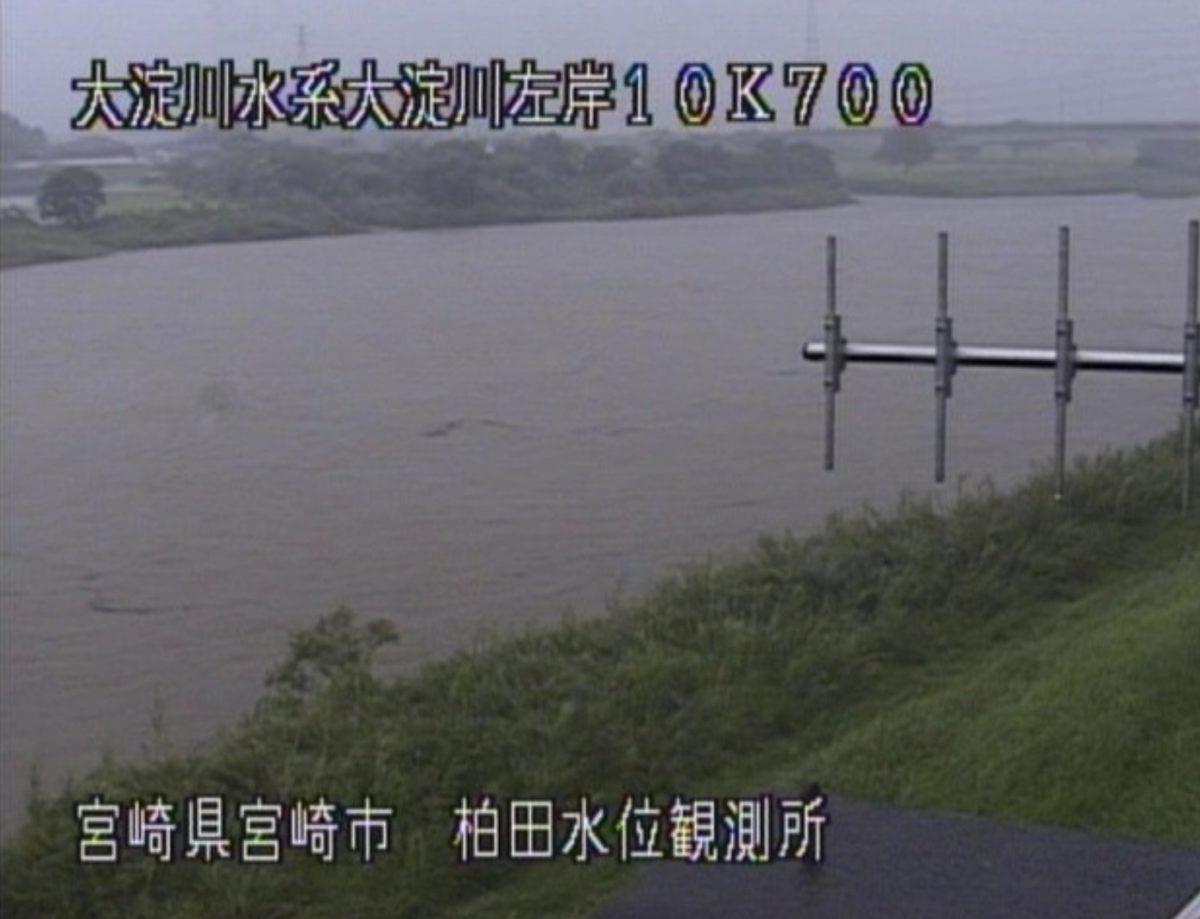 大淀川 ライブカメラと雨雲レーダー/宮崎県宮崎市