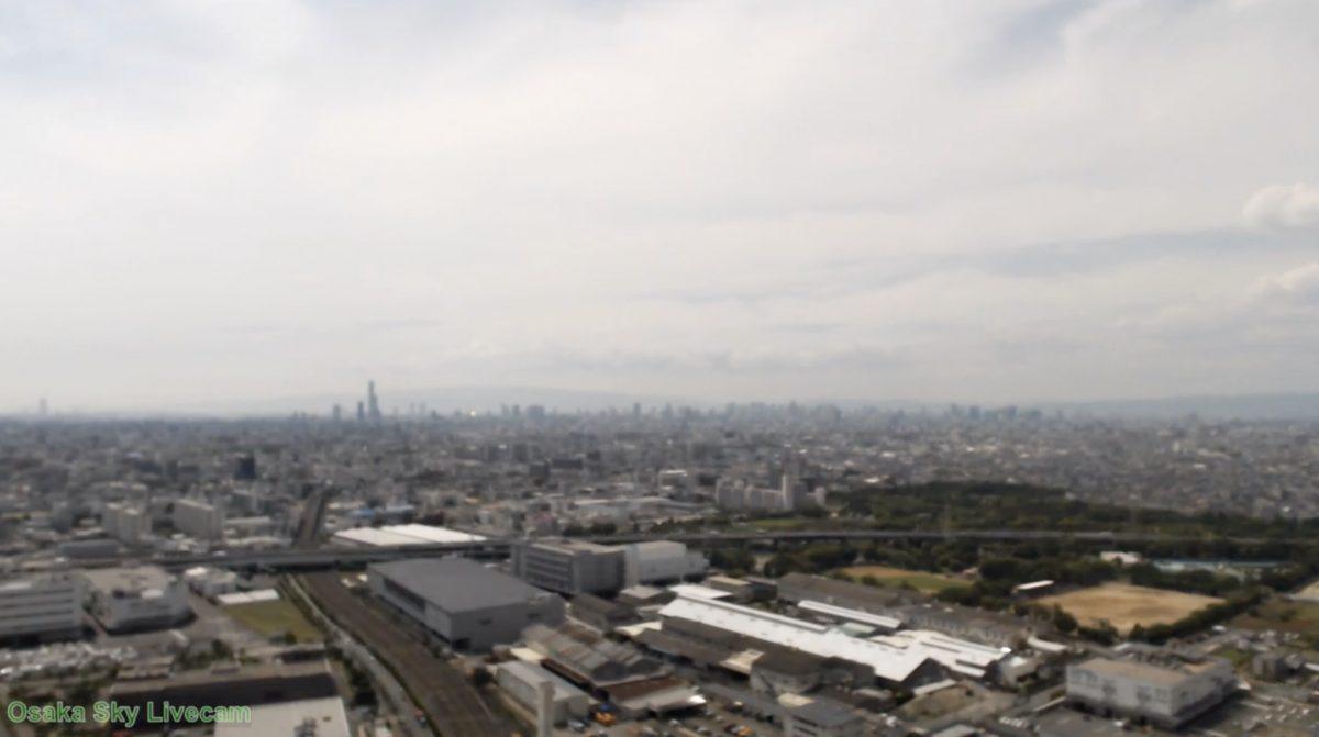大阪(あべのハルカス・通天閣) ライブカメラと雨雲レーダー/大阪府