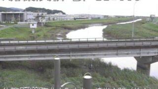 六角川・焼米排水機場ライブカメラと雨雲レーダー/佐賀県武雄市北方町