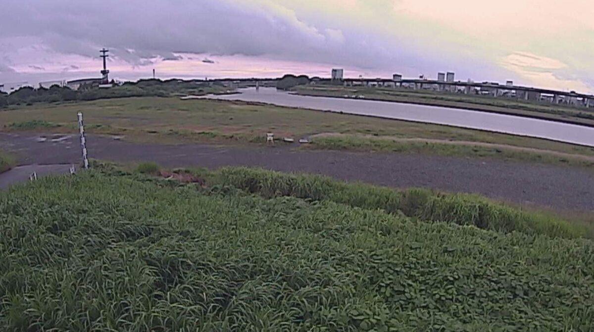 相模川・三川合流点ライブカメラと雨雲レーダー/神奈川県厚木市厚木