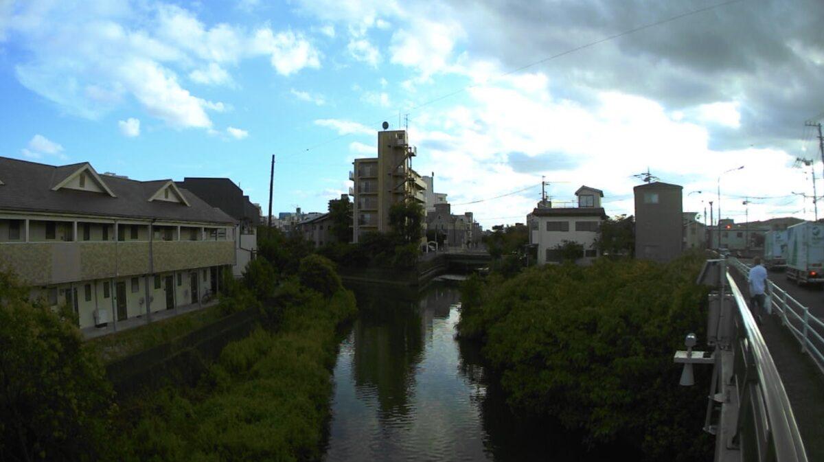 坂川・古ヶ崎ライブカメラと雨雲レーダー/千葉県松戸市古ケ崎