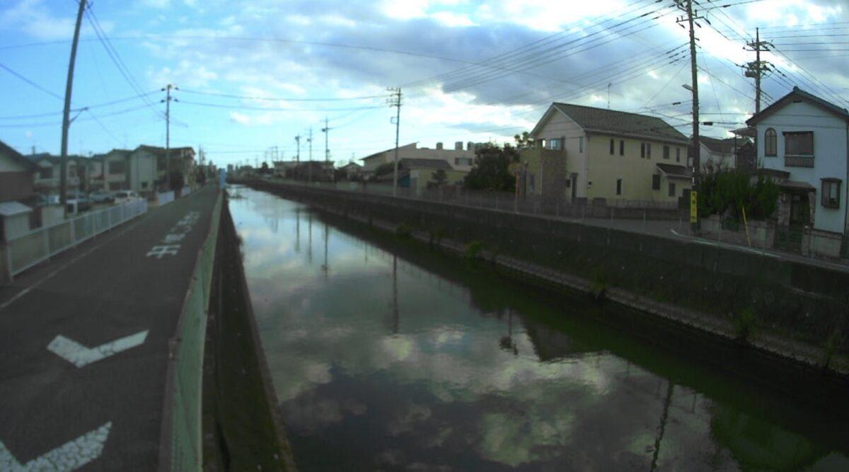 坂川・馬橋ライブカメラと雨雲レーダー/千葉県松戸市栄町