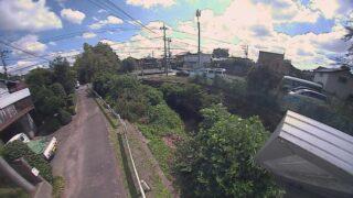 境川・二国橋ライブカメラと雨雲レーダー/神奈川県相模原市緑区相原