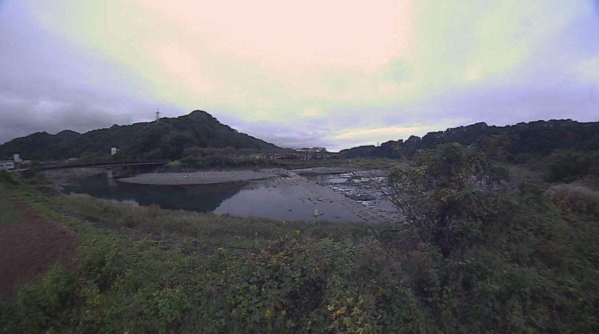 酒匂川・高瀬橋ライブカメラと雨雲レーダー/神奈川県山北町平山