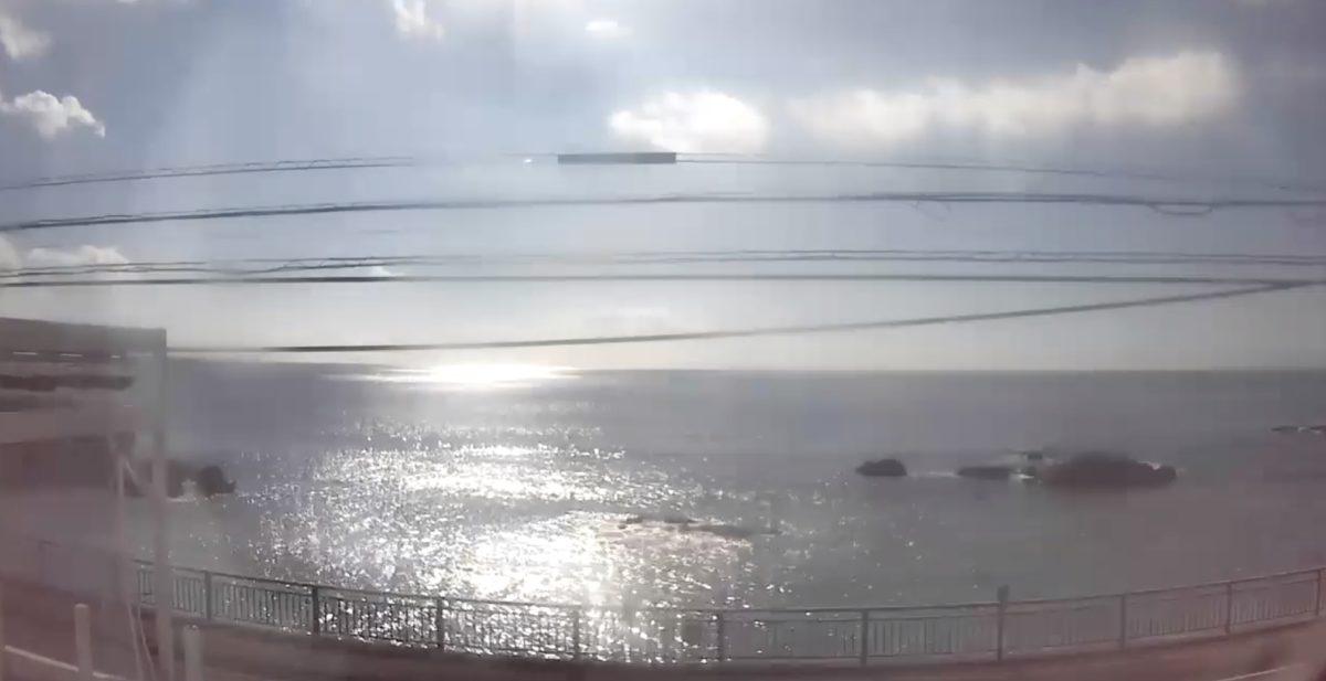 三ヶ下海岸 ライブカメラと雨雲レーダー/神奈川県葉山町