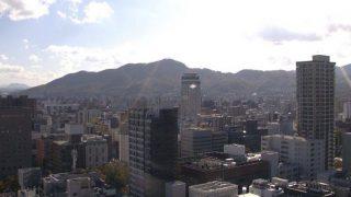 札幌 ライブカメラ(STV本社)と雨雲レーダー/北海道札幌市