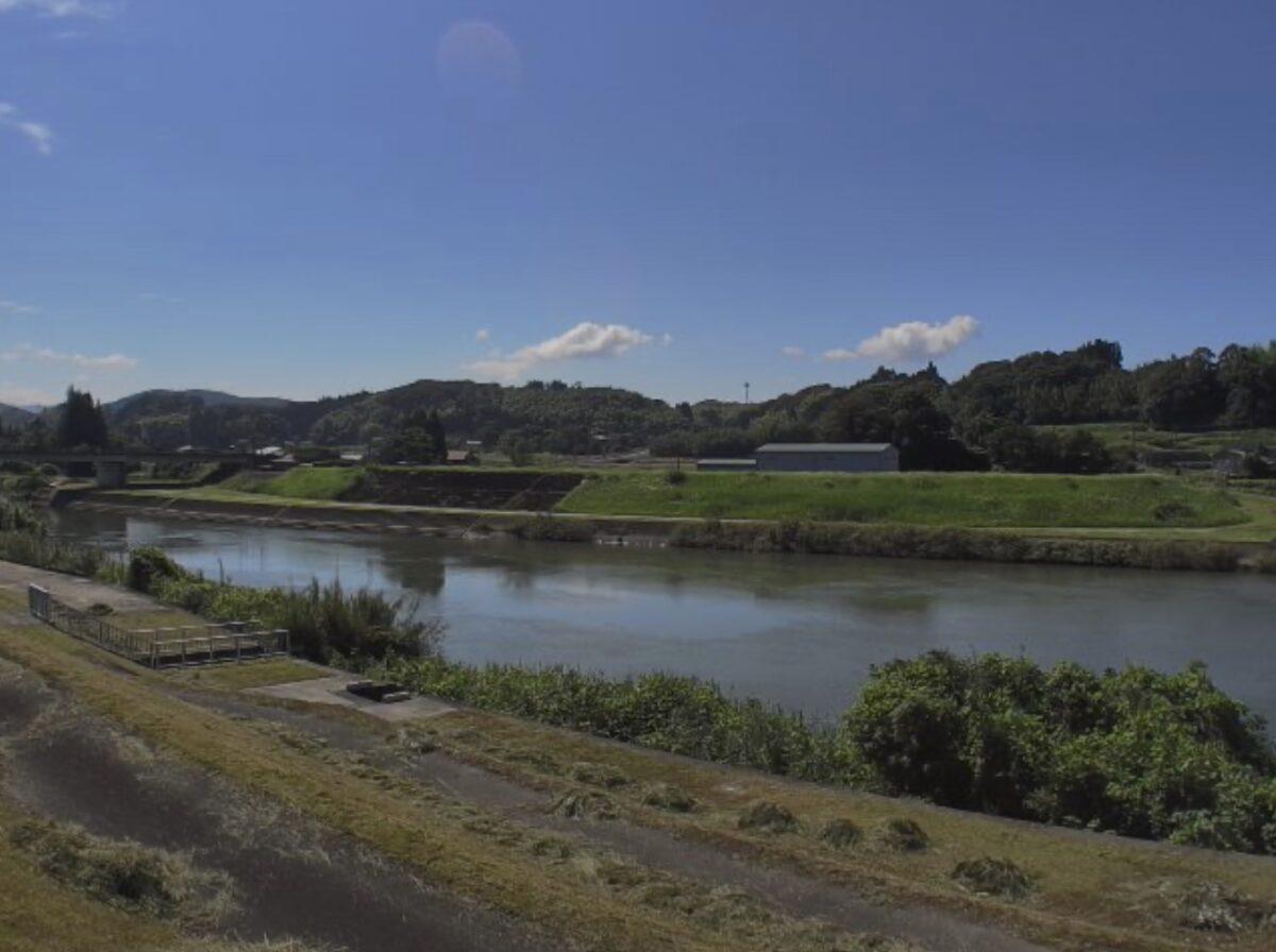 川内川・神子橋ライブカメラと雨雲レーダー/鹿児島県さつま町神子