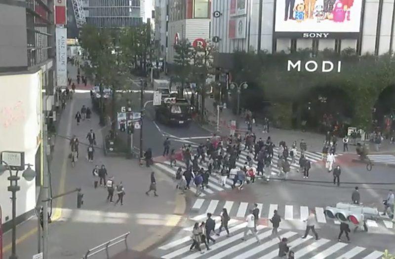 スクランブル ライブ 渋谷 映像 交差点 ライブカメラ!都内のリアルタイム映像(7選)