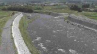 白川・合上橋ライブカメラと雨雲レーダー/熊本県阿蘇郡南阿蘇村