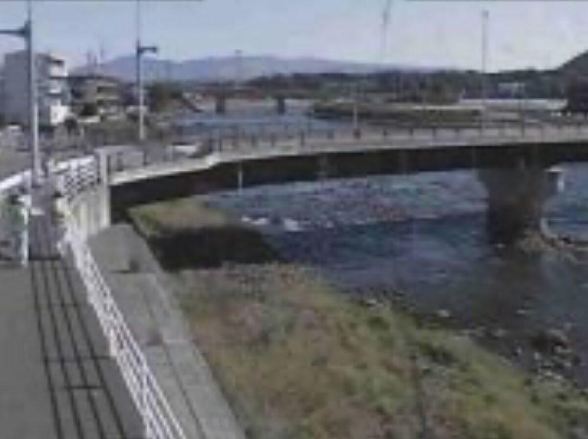 白川・龍田町弓削ライブカメラと雨雲レーダー/熊本県熊本市北区