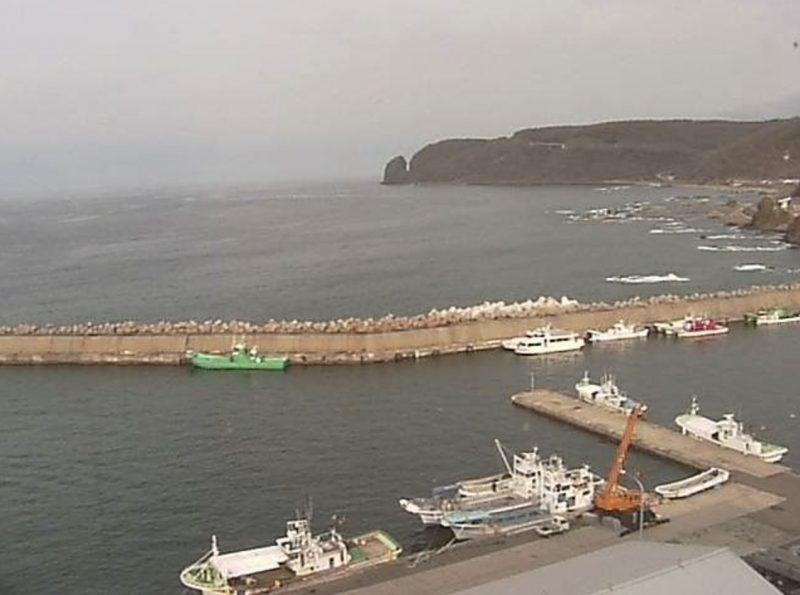 知床 ライブカメラ(STV)と雨雲レーダー/北海道斜里町