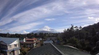 富士山 ライブカメラ(精進湖民宿村)と雨雲レーダー/山梨県富士河口湖町