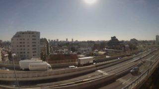 首都高速道路4号新宿線 ライブカメラ(初台出入口)と気象レーダー/東京都渋谷区