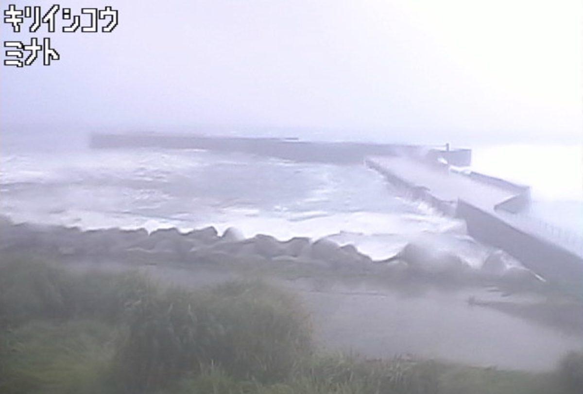 諏訪之瀬島(切石港) ライブカメラと雨雲レーダー/鹿児島県十島村
