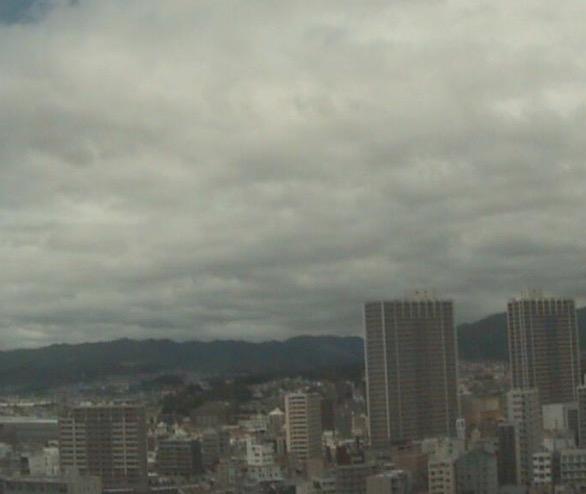 高槻市の空模様ライブカメラと雨雲レーダー/大阪府高槻市