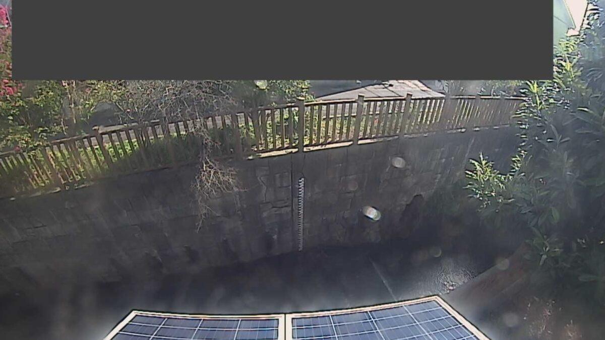 竹川・竹川橋ライブカメラと雨雲レーダー/神奈川県横須賀市武