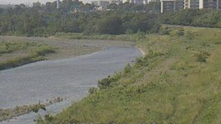 多摩川 ライブカメラ(睦橋上流)・雨量と気象レーダー/東京都福生市