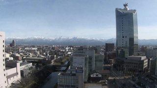 いたち川・タワー111・立山 ライブカメラと雨雲レーダー/富山県富山市