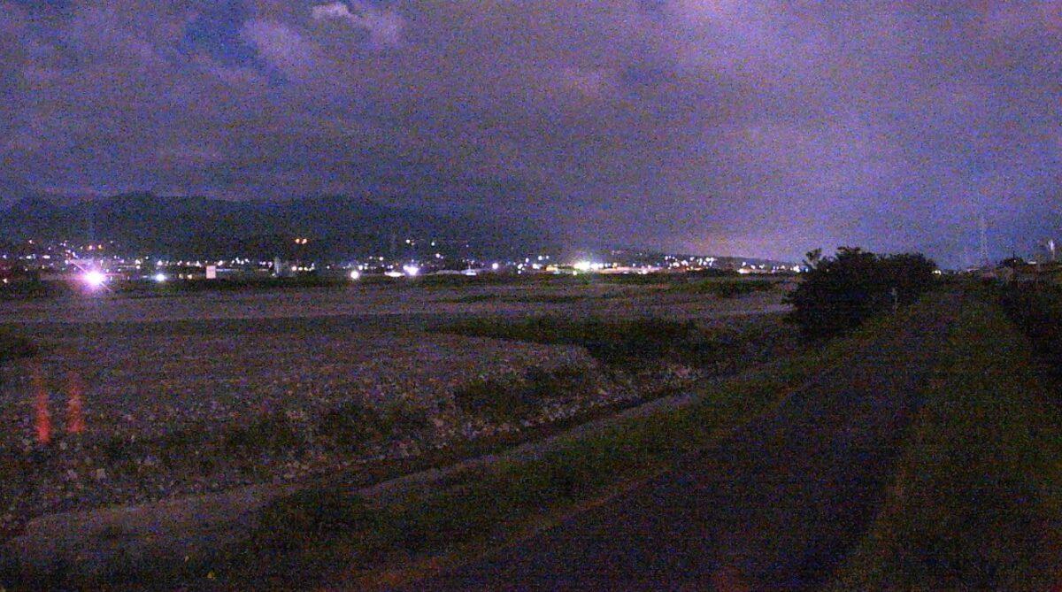 天竜川・阿島ライブカメラと雨雲レーダー/長野県喬木村阿島
