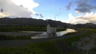 天竜川・樋口ライブカメラと雨雲レーダー/長野県辰野町樋口