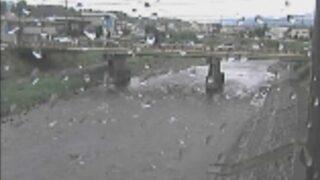 天竜川・伊那水位観測所ライブカメラと雨雲レーダー/長野県伊那市狐島