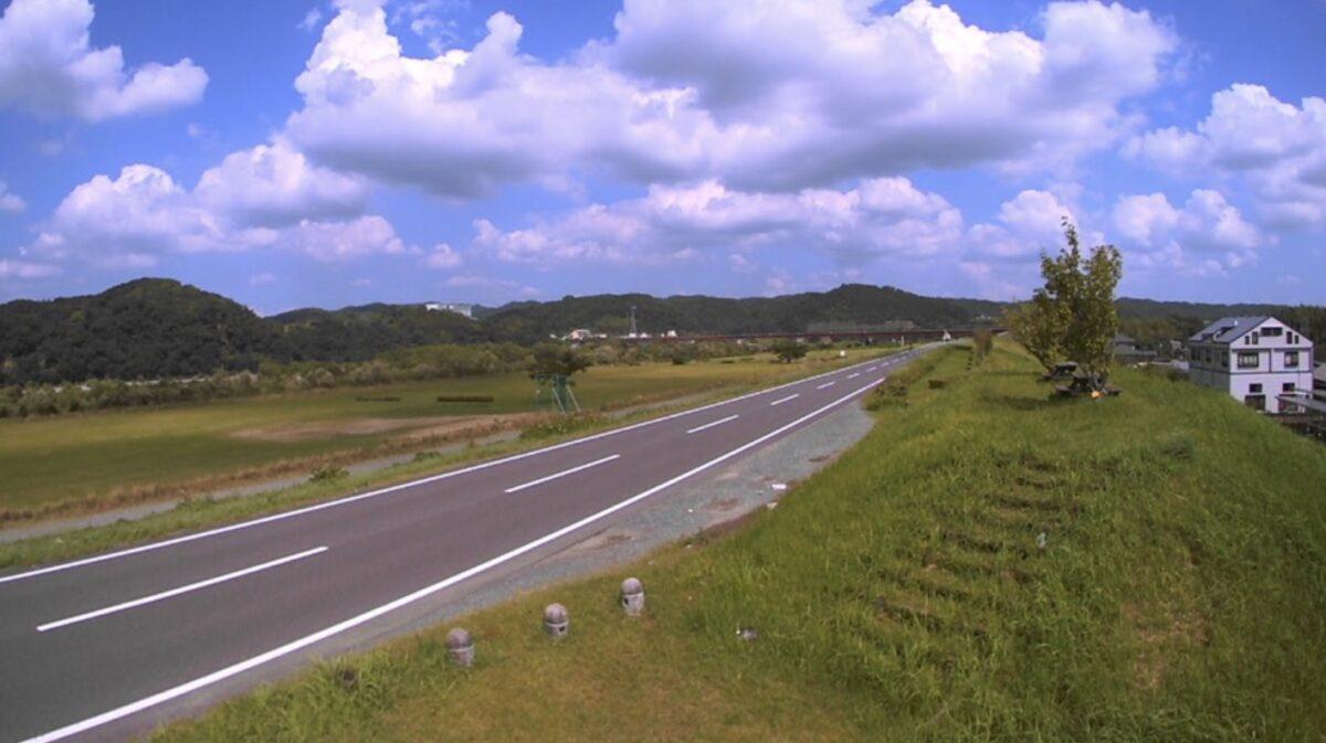 天竜川・上島ライブカメラと雨雲レーダー/静岡県浜松市浜北区