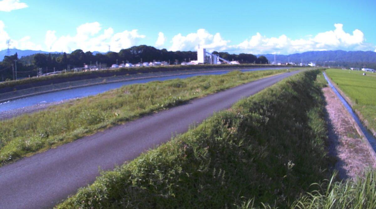 天竜川・上牧ライブカメラと雨雲レーダー/長野県伊那市