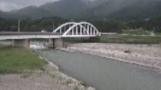 天竜川・駒見大橋ライブカメラと雨雲レーダー/長野県駒ヶ根市