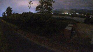 天竜川・神稲ライブカメラと雨雲レーダー/長野県豊丘村神稲