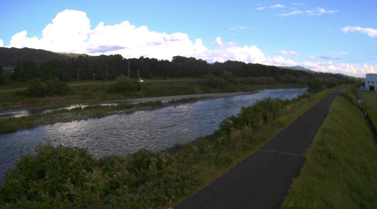 天竜川・三日町ライブカメラと雨雲レーダー/長野県箕輪町三日町