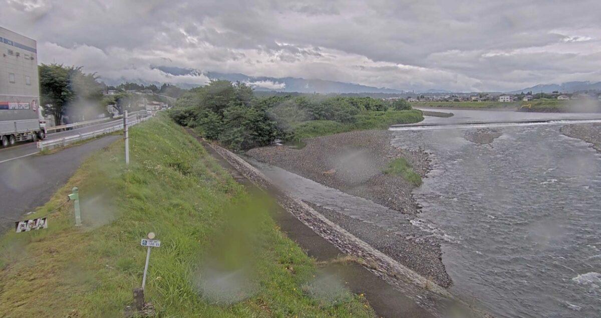 天竜川・西春近ライブカメラと雨雲レーダー/長野県伊那市