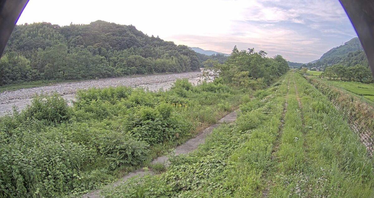 天竜川・大草ライブカメラと雨雲レーダー/長野県中川村大草