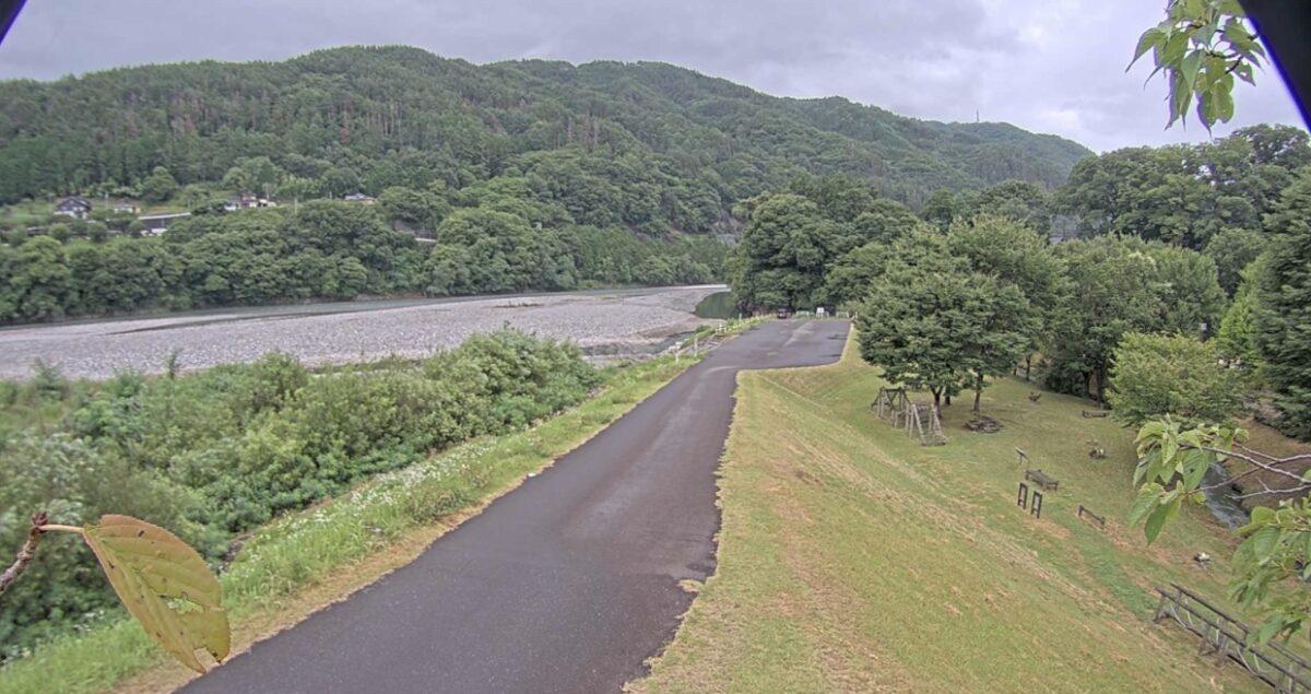 天竜川・下平ライブカメラと雨雲レーダー/長野県駒ヶ根市