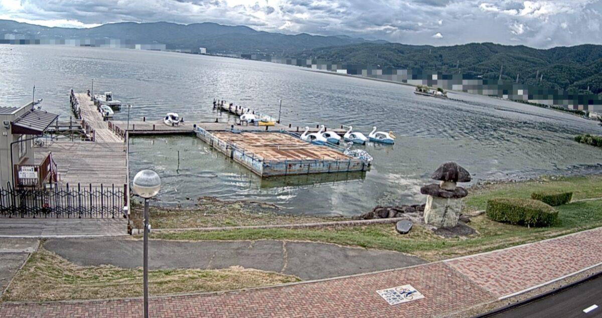 天竜川水系・諏訪湖岸ライブカメラと雨雲レーダー/長野県諏訪市湖岸通り