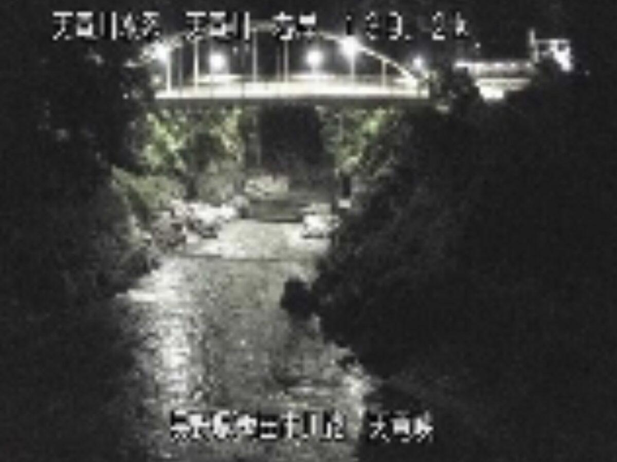 天竜川・天竜峡ライブカメラと雨雲レーダー/長野県飯田市龍江