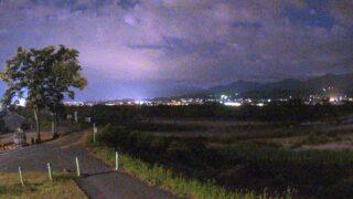 天竜川・伴野ライブカメラと雨雲レーダー/長野県豊丘村神稲