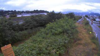 天竜川・山寺ライブカメラと雨雲レーダー/長野県伊那市山寺
